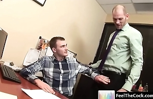 Office Cock - Gay Lovemaking Yon The Office - movie06