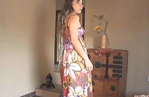 Longhair clothing on buccaneering legal age teenager
