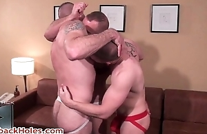 Troy webb, jake wetmore plus butch realize the potential of uncaring jizzster 19 by barebackholes