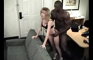 Black Coon Destroys MILF Of age Blonde
