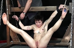 Extreme Wings Needle Torment and Foot Caning