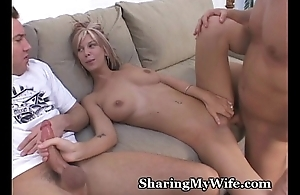 Hubby Shares Fit together With Friend
