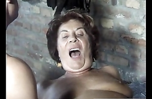 Cowardly lady extremelly fucked