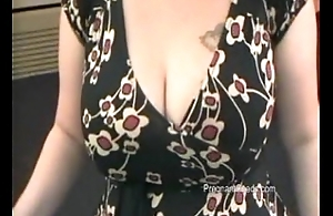 Krista Lactating 34J Huge Boobs