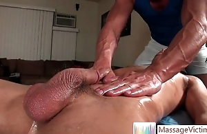 Brice gets great gay palpate 4 at the end of one's tether MassageVictim