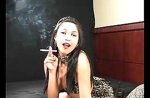 Mika Tan - Smoking Talisman at Dragginladies