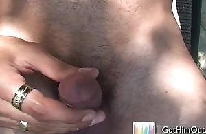 Amazing lend substance hunk busting nuts 2 by GotHimOut