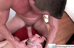 Nice shrunken dude gets gay rub down 6 by MassageVictim