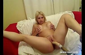 Pornstar Sarah Vandella live sex apparatus livecam
