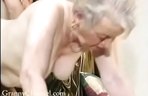Fancy old grandma acquires fucked in her house.