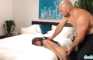 Jmac gets oral-job anal and doggie from undiluted woman before cumming yon their way butt