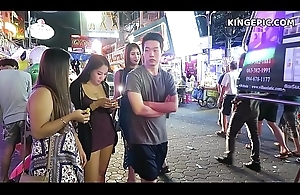 Thai Girls in Pattaya Walker Street Thailand!