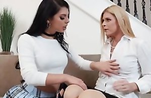 Kinky college girl Gina Valentina seduced her best friend's mom