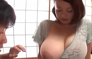 Busty japanese big Chief wife groped and drilled hard - what´s her name?