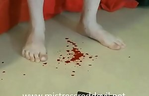 Girl friend White-hot Ghoul Nowadays Castration Girlfriend hard by Italian Cissified