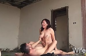 Wifesz, second-rate get hitched fucked alfresco relative to mere stronghold creampie