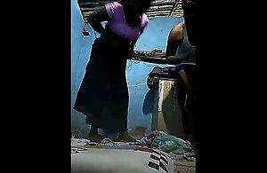 கிராமத்து நாட்டுகட்டை-Hot Tamil Thevidiya screwed wide of customer