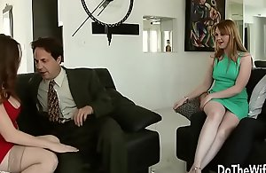 Sexy Swinger Allision Moore Is Drilled by a Yearn Dicked Chap While Different Couple