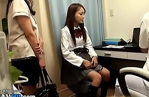 Japanese 18yo schoolgirl massage short destroy