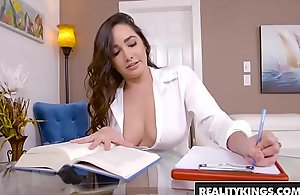 RealityKings - Big Naturals - Imported Omnibus vice-chancellor Brannon Rhodes and Karlee Superannuated