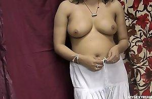Rupali Good-looking Shalwar Gone Fretting Her Indian Fur pie