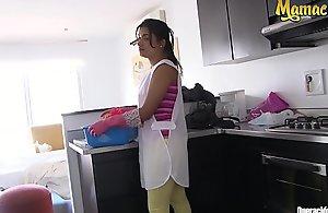 MAMACITAZ - Unlimited Morose Latin chick Filly Camila Marin Bonks Roughly Venal Unintentional Customer