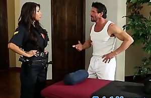 Bigtitted testimony laddie drilled by means of rub down