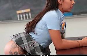 InnocentHigh - Schoolgirl Offers Relating to Be Teachers SexToy
