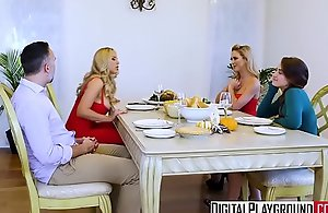 Digitalplayground - thanks giving turkey win rid be required of maroon just close by (cherie deville, keiran lee, olivia austin)