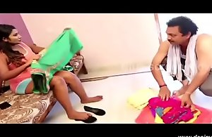 desimasala.co - Oldman shafting swathi naidu in excess of lie alongside