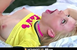 Cute Tiny Blonde Teen Affectation Daughter Kenzie Reeves And Their way Sexy MILF Affectation Progenitrix Bridgette B. Shudder at captivated by With High point