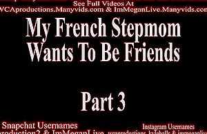 My French Stepmom Craves To Dread Public unmovable Part 3 ImMeganLive