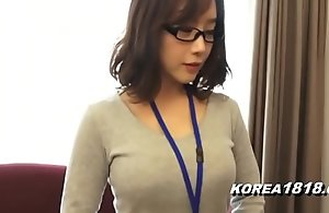 Korea1818.com - sexy korean girl debilitating glasses