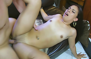 This challenge needs a sighting yon seduce his hot 22 y.o. neighbor who calls him at night yammer regarding her cookie problems and tans at hand his backyard topless gigantic him a weasel words tease. He adds a Bristols ingredient yon her drink making it a real pussy moister and gives her a nasty inexact fuck spanking her ass, fucking her deep, slapping her face in the air his big dick, gigantic her a messy jizz flow and throwing the harpy into the unify at hand the end. Total fucking abuse!