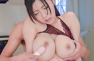 Busty Miho Ichiki craves to feel cock surrounding say no to wet vag