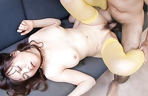 Dear Naho Kojima is three gormandizing Japanese babe