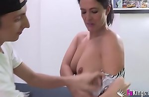 Filipe'_s spent waking insensate are Montse'_s videos. Today, he'_s banging her _)
