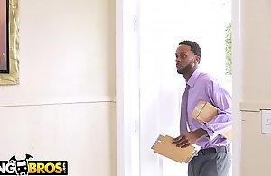 BANGBROS - Negroid Pornstar Katt Garcia'_s Got A Double D Distribution