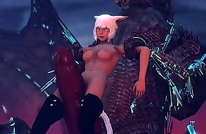 Y'shtola defeated by Bahamut Arch