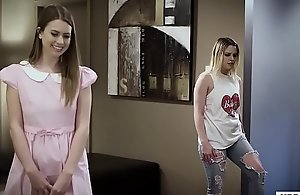 Old granddad copulates their young guests - Jill Kassidy and Aubrey Sinclair