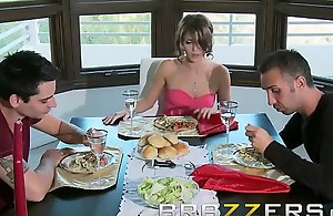 Subject of dad (Keiran Lee) bonks sons girlfriend Jenni Lee - Brazzers