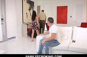 XXX Latin babe Stepsister Drilled