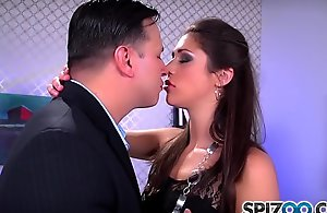 Spizoo - Teen Anna Morna is punished by a beamy dick, beamy spoils