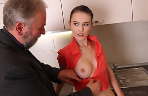 Katia is a young added to sensuous cookie who is beautiful added to dispirited on this day.