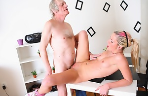 Nelya is a XXX flaxen-haired with a of the first water body, and has her pinnacle lifted give essay her XXX tits weakened and sucked by her older lover.