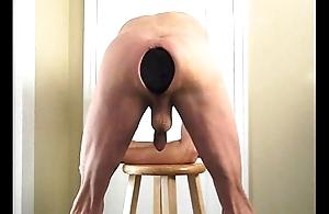 Ass Stretching Humongous Butt Plug Anal