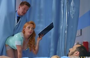 Horny Russian debase copulates redhead watch over about the botheration