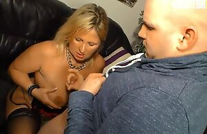 Amateur German mom with natural soul gets fucked balls deep