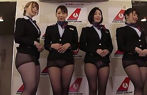 Fix it be worthwhile for Oriental stewardesses getting fucked good and no great shakes