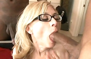 Nina Hartley takes unaffected by BBCs